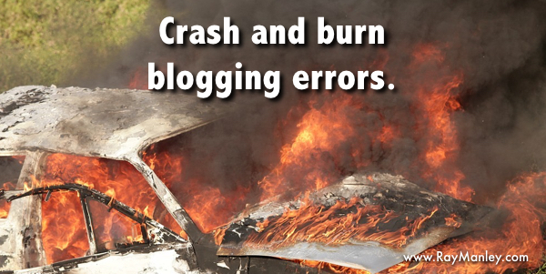 Blog writing errors and tips